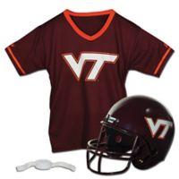 Virginia Tech University Kids Helmet/Jersey Set