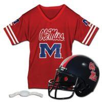 University of Mississippi Kids Helmet/Jersey Set