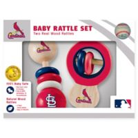 MLB St. Louis Cardinals Rattles (Set of 2)