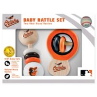 MLB Baltimore Orioles Rattles (Set of 2)