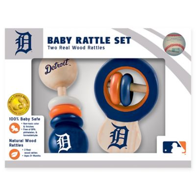 MLB Detroit Tigers Rattles (Set Of 2)