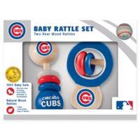 MLB Chicago Cubs Rattles (Set of 2)