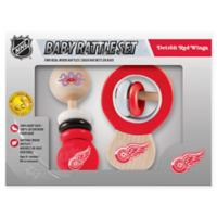 NHL Detroit Red Wings Rattles (Set of 2)