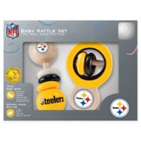 NFL Pittsburgh Steelers Baby Rattles (Set of 2)