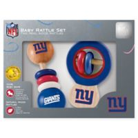 NFL New York Giants Baby Rattles (Set of 2)