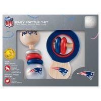 NFL New England Patriots Baby Rattles (Set of 2)