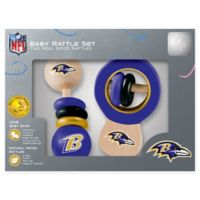 NFL Baltimore Ravens Baby Rattles (Set of 2)