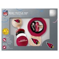 NFL Arizona Cardinals Baby Rattles (Set of 2)