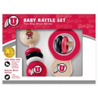 University of Utah Rattles (Set of 2)