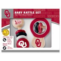 University of Oklahoma Rattles (Set of 2)