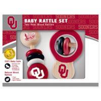University of Oklahoma Rattles (Set of 2)