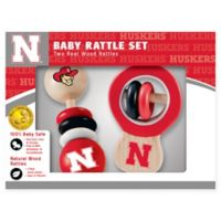 University of Nebraska Rattles (Set of 2)