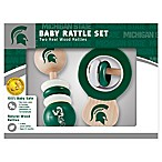 Michigan State University Rattles (Set of 2)