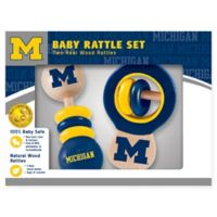 University of Michigan Rattles (Set of 2)