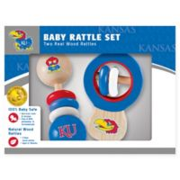 University of Kansas Rattles (Set of 2)