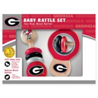 University of Georgia Rattles (Set of 2)