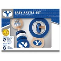 Brigham Young University Rattles (Set of 2)