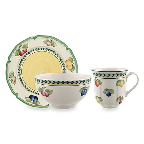 Villeroy and boch french garden 12 piece dinnerware set for Villeroy boch french garden