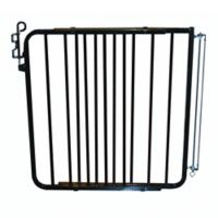 Cardinal Gates Aluminum Auto-Lock Gate in Black