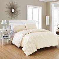Chic Home Maritoni 7-Piece Reversible Queen Comforter Set in Beige