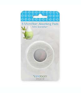 Almohadillas absorbentes de repuesto para aromaterapia, Mini Scentifier™ SpaRoom® Set de 6