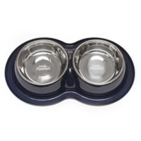 Totally Pooched™ Medium Double Diner in Navy