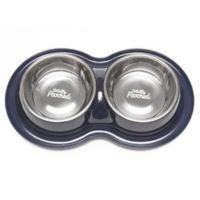 Totally Pooched™ Large Double Diner in Navy