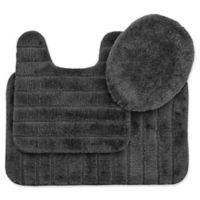 Mohawk Veranda Bath Rugs in Grey (Set of 3)