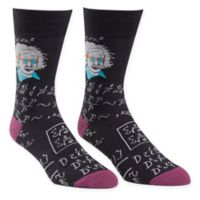 Sock It to Me Relatively Cool Einstein Men's Knitted Crew Socks