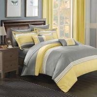 Chic Home Karsa 8-Piece Twin Comforter Set in Yellow