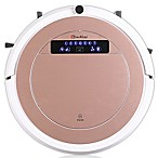 iTouchless® UV-C Sterilizer Robot Vacuum Cleaner with HEPA Filter and Mop Kit in Rose Gold