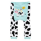 Doodle Pants® Small Cow Leggings in Blue