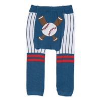 Doodle Pants® Small Baseball Leggings in Navy