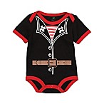 Doodle Pants® Size 6M Pirate Bodysuit in Black