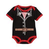 Doodle Pants® Size 6M Pirate Bodysuit in Black