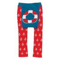 Doodle Pants® Small Lifesaver Leggings in Red