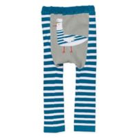 Doodle Pants® Large Captain Feathers Leggings in Teal