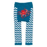 Doodle Pants® Large Chevron Octopus Leggings in Teal