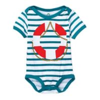 Doodle Pants® Size 12M Lifesaver Bodysuit in Teal