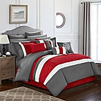 Chic Home Seigel 16-Piece Queen Comforter Set in Red