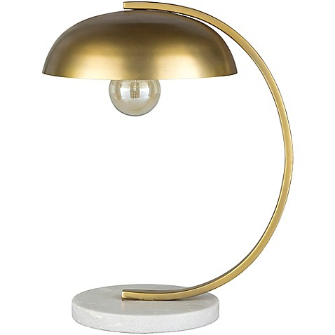image of Surya Khetu Table Lamp in Gold