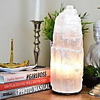 Nature's Artifacts Moroccan Medium Selenite Lamp