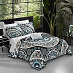 Chic Home Alencon 8-Piece Reversible King Duvet Cover Set in Black