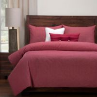 SIScovers® Modern Farmhouse Barn King Duvet Cover Set in Red