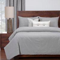 SIScovers® Modern Farmhouse Harvest California King Duvet Cover Set in Grey/White