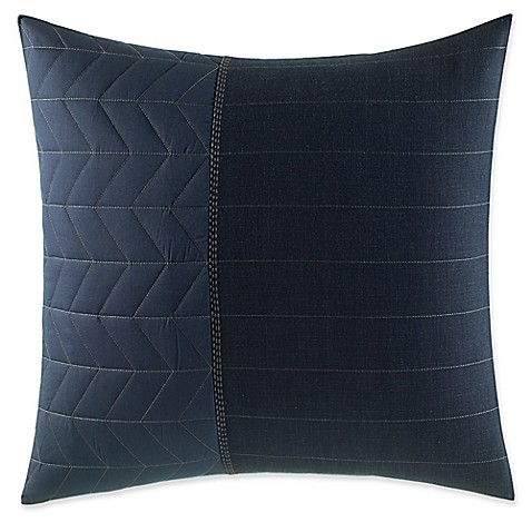 image of ED Ellen DeGeneres Nomad European Pillow Sham in Navy