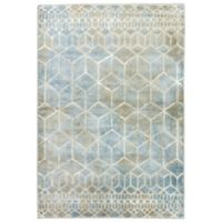 Jaiper Ether 2-Foot x 3-Foot Accent Rug in Brown/Blue