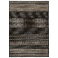 Jaipur Zeal 7-Foot 10-Inch x 10-Foot 10-Inch Area Rug in Black/Tan