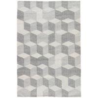 Jaipur Vista 2-Foot x 3-Foot Indoor/Outdoor Accent Rug in Grey
