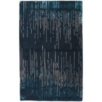 Jaipur Messina 5-Foot x 8-Foot Area Rug in Blue/Taupe